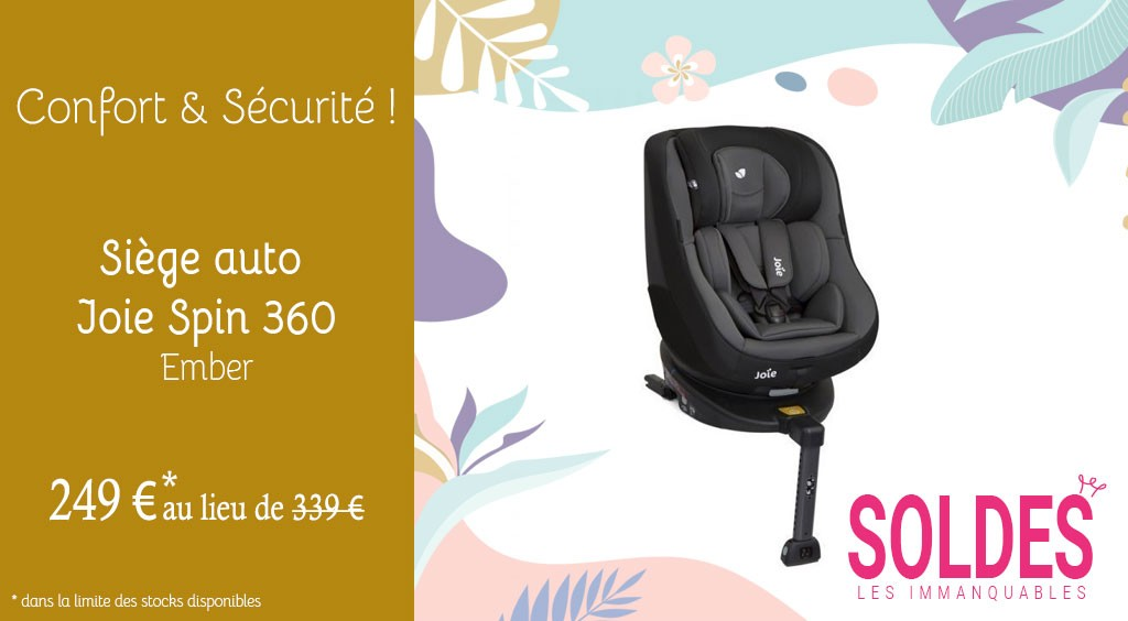 Siège auto Joie Spin 360 Ember