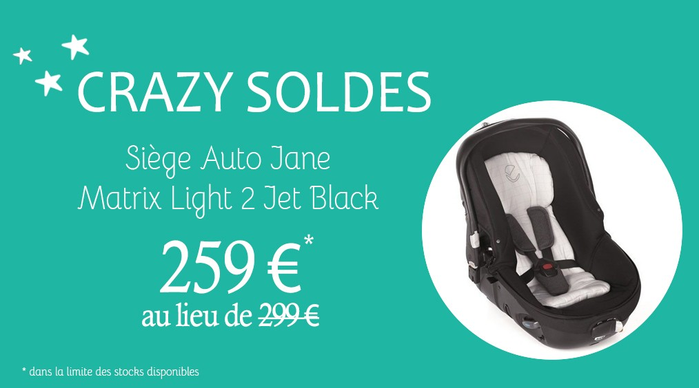 Siège Auto Jane Matrix Light 2 Jet Black